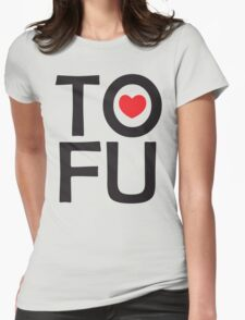 I LOVE TOFU - TYPOGRAPHY T-Shirt