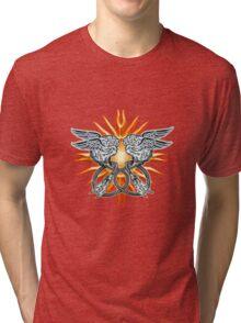 CrAzY bRaiNz Tri-blend T-Shirt