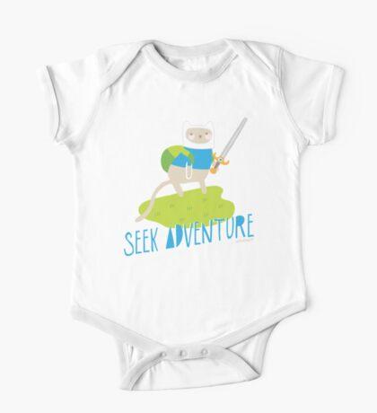 """Seek Adventure"" Kitty One Piece - Short Sleeve"