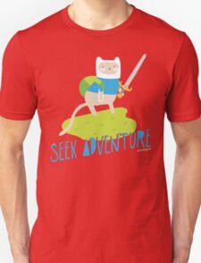 """Seek Adventure"" Kitty Unisex T-Shirt"