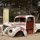 Relics of Days Gone By - Nullarbor Plain WA by Rosaria