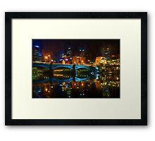 Reflective City      (GO2) Framed Print