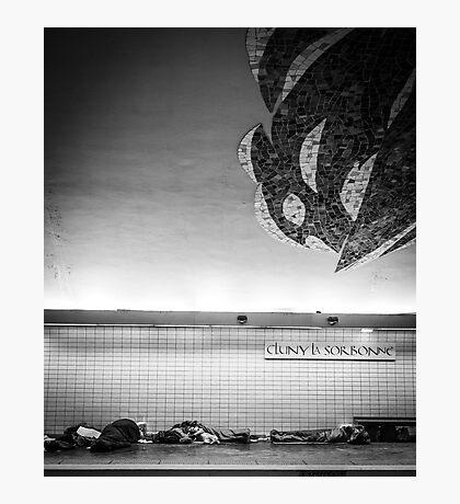 Paris Signature Series Metro 15/15 Photographic Print