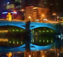 Reflective City      (GO2) Sticker
