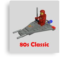 80s Classic Space Lego Canvas Print
