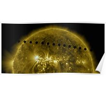 Venus in Transit Across the Sun - Sequence Poster