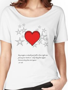 Fall in Love - My Teddy Made Me Do It Women's Relaxed Fit T-Shirt