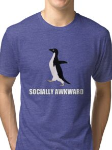 Socially Awkward Tee Tri-blend T-Shirt
