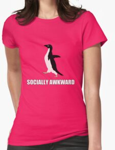 Socially Awkward Tee Womens Fitted T-Shirt