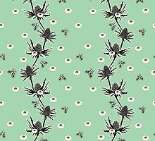 Sea Holly -  Sea Foam by OliviaWendt