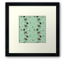 Sea Holly -  Sea Foam Framed Print