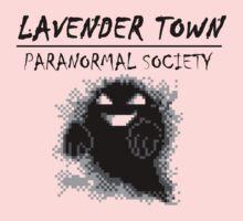 Lavender Town Paranormal Kids Tee