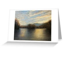 Light At The End of The Day Greeting Card