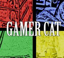 Gamer Cat Sticker