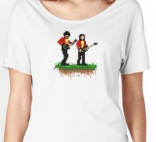 Gary & Phil Out In The Fields Women's Relaxed Fit T-Shirt