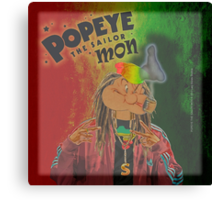 POPEYE THE SAILOR MON - 018 Canvas Print