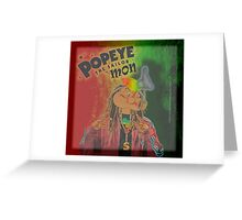 POPEYE THE SAILOR MON - 018 Greeting Card