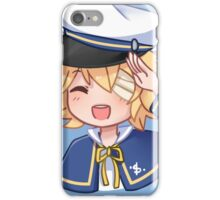 Vocaloid Oliver (STOP BUYING THIS THO I HAVE A BETTER LESS-BADLY-DRAWN ONE) iPhone Case/Skin
