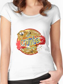 oh Crumbs!!! Women's Fitted Scoop T-Shirt