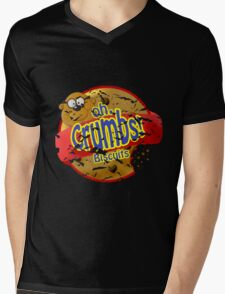 oh Crumbs!!! Mens V-Neck T-Shirt
