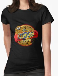 oh Crumbs!!! Womens Fitted T-Shirt