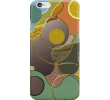 Cool Modern Metallic abstract case iPhone Case/Skin