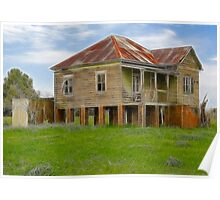 Abandoned old home Poster