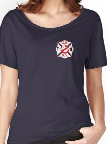 GBNY Cross Logo Women's Relaxed Fit T-Shirt