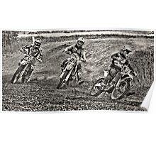 Bike racing Poster