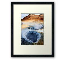 Boiling Earth Framed Print