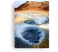 Boiling Earth Canvas Print