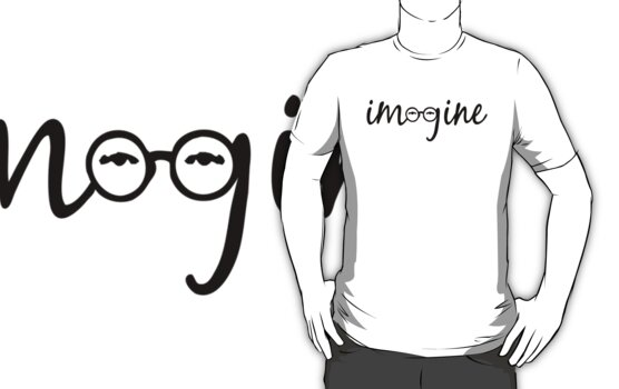 Imagine - John Lennon  by Denis Marsili - DDTK