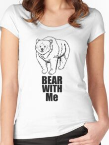 Bear With Me (2) Women's Fitted Scoop T-Shirt