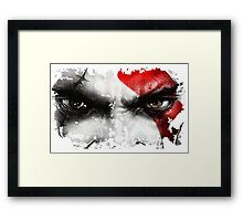 strong warrior Framed Print