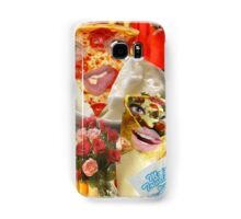 Pizza and Donair love affair Samsung Galaxy Case/Skin