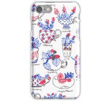 Tea Botanicals iPhone Case/Skin