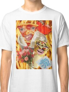 Pizza and Donair love affair Classic T-Shirt