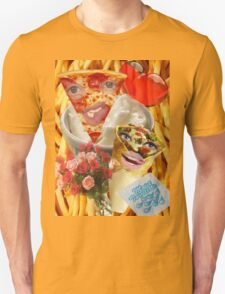 Pizza and Donair love affair Unisex T-Shirt