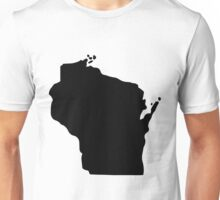 American State of Wisconsin Unisex T-Shirt