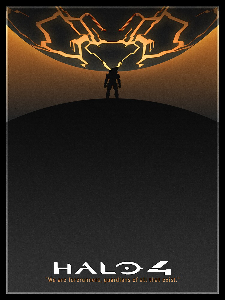 Halo 4 Poster by taylderp
