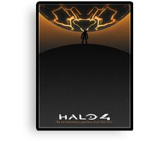 Halo 4 Poster Canvas Print