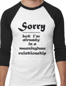 SORRY Men's Baseball ¾ T-Shirt
