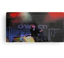 Owl City live Metal Print