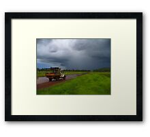 Morning Storm Framed Print