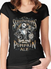 Jack's Pumpkin Royal Craft Ale Women's Fitted Scoop T-Shirt