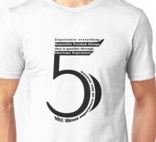 Numerology - 5 Unisex T-Shirt
