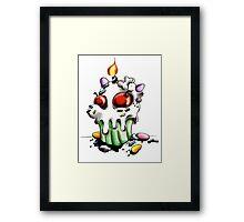 Sweet n Creepy Tee Framed Print
