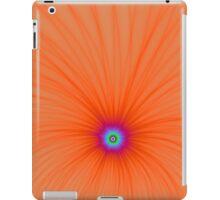 Tangerine Color Explosion iPad Case/Skin