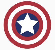 Captain America Shield by monsterplanet