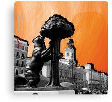 Puerta del Sol a Color Canvas Print
